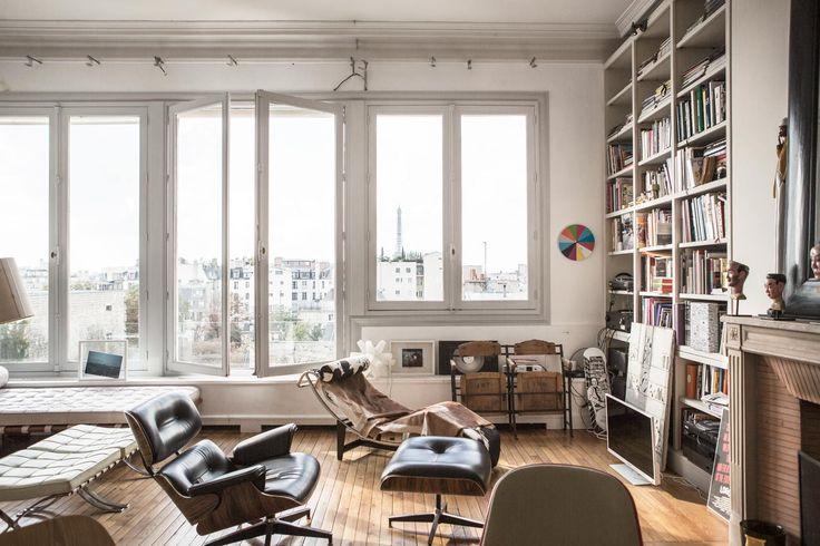 Perfect bookshelves (in ramdane touhami victoire de taillac paris apartment garance dore photos)