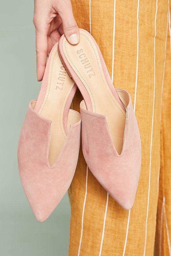 36d78f539 Schutz Kirsten Pointed Slides | Things I Fancy: Wear | Shutz sapatos ...