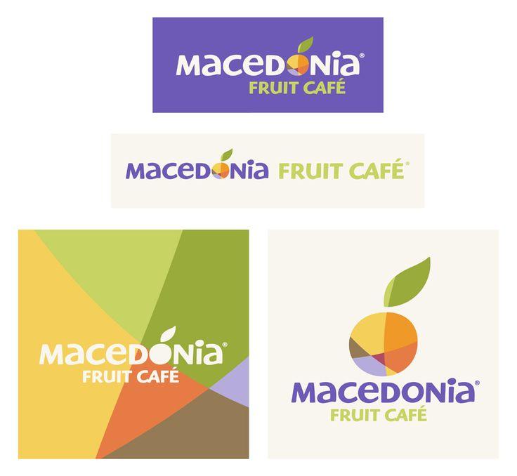 Mostaza Design   Macedonia fruit café   Madrid  The flavors of fresh fruit   Brand Design by David de Ramón y Blas Rico   #mostazadesign #fruit #branding #coffeeshop #madrid #interiordesign #interiors #retail #illustration