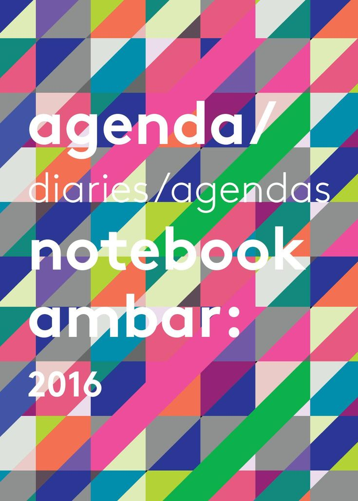 Catalogo agendas ambar 2016