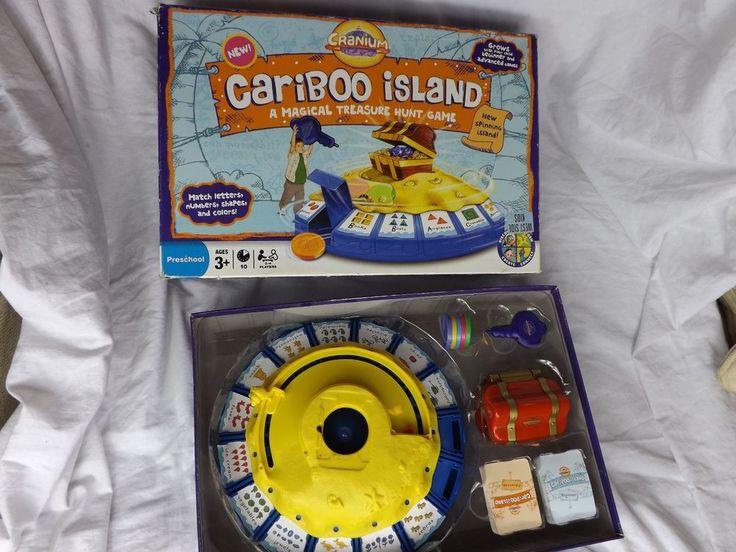 Cranium CARIBOO Island Preschool Learning Treasure Hunt Game 2008 - COMPLETE! #Hasbro