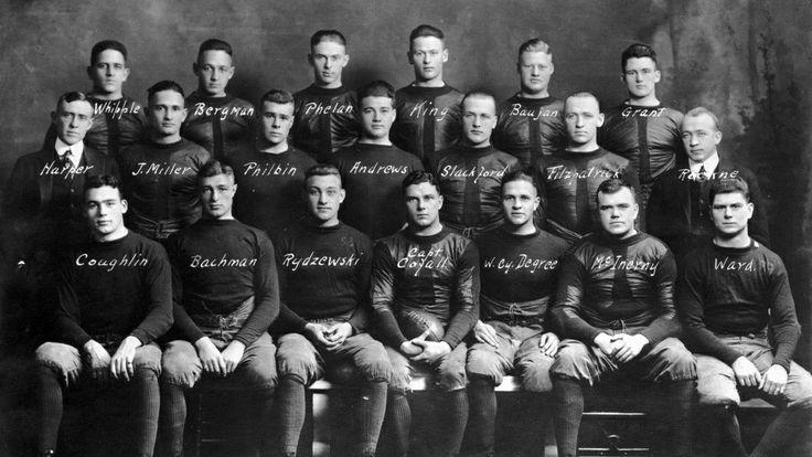1916 Notre Dame Football Team