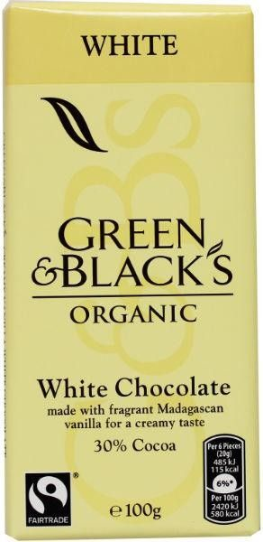Bekijk dit nieuwe #naturalbrands.nl product  Green & Black | Chocoalde wit 100g -  - Price: €2.50. Buy now at https://www.naturalbrands.nl/green-black-chocoalde-wit-100g