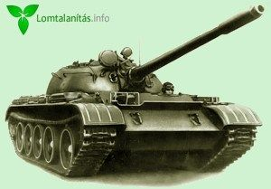 Lomtalanításra kihelyezett tank Budapesten :)