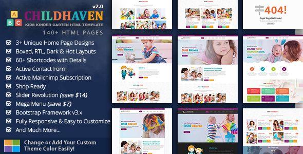 Children Kids School Kindergarten Education - Children Haven http://themeforu.com #webdesign #website #design #responsive #besttemplates #template #SiteTemplates #Retail #Children
