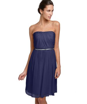 Donna Morgan Belted Chiffon Dress (Perfect for summer weddings)