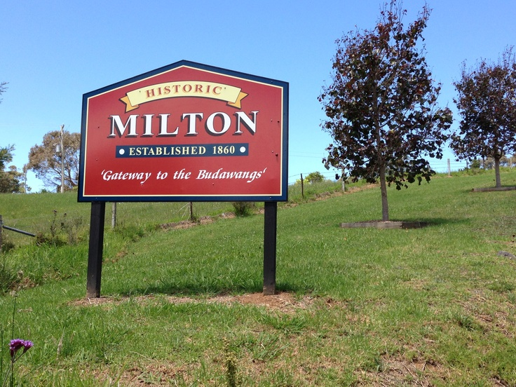 Milton est.1860s is heritage listed by the National Trust, along with many of its buildings, original workers' cottages and outlaying farm houses