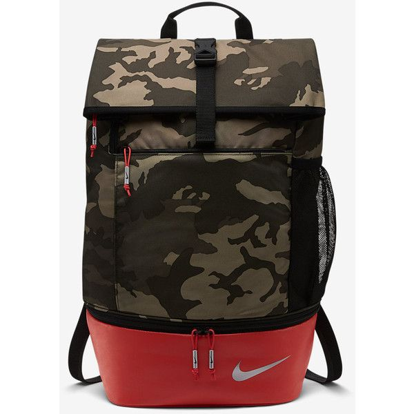 Nike Sport Backpack. Nike.com (755 SEK) ❤ liked on Polyvore featuring bags, backpacks, sporting bags, nike knapsack, backpack bags, sports bag and sport backpack
