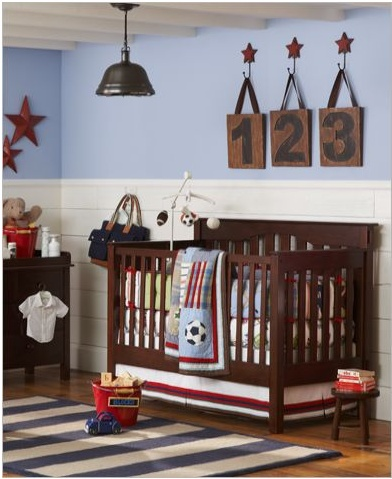 Sports Baby Boys Room