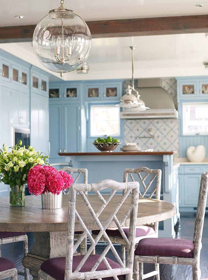156 best blue kitchens images on pinterest | blue kitchen cabinets