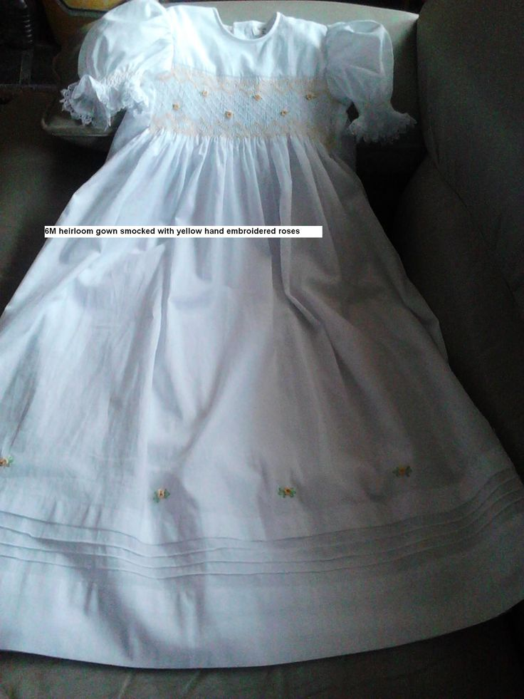 new smocked cotton lined 0427820744 come with hat