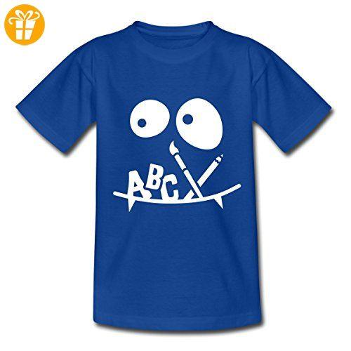 Einschulung ABC-Schütze Kinder T-Shirt von Spreadshirt®, 122/128 (7-8 Jahre), Royalblau - T-Shirts mit Spruch   Lustige und coole T-Shirts   Funny T-Shirts (*Partner-Link)