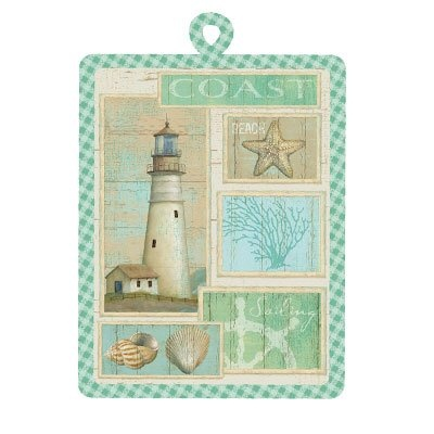 Amazon.com: Coastal Lighthouse Kitchen Potholder: Home U0026 Kitchen