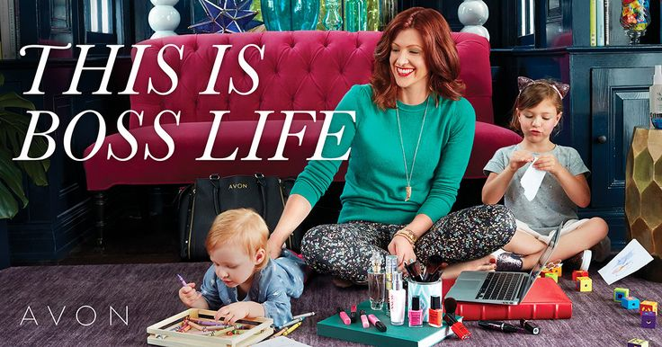 Avon Representative Lydia Osolinsky is empowered to live the Boss Life. You can be too!