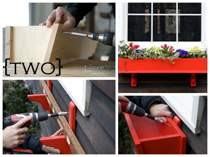 Ten DIY Window Box Planter Ideas with Free Building Plans - Tuesday {ten}