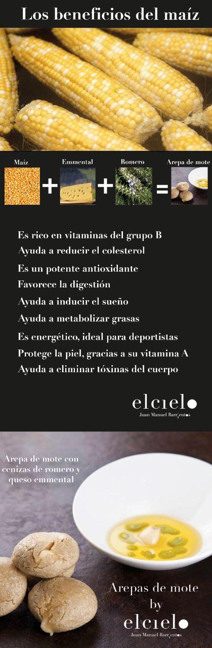 Arepa de Mote by #elcielo Beneficios del Maíz #FOODIE