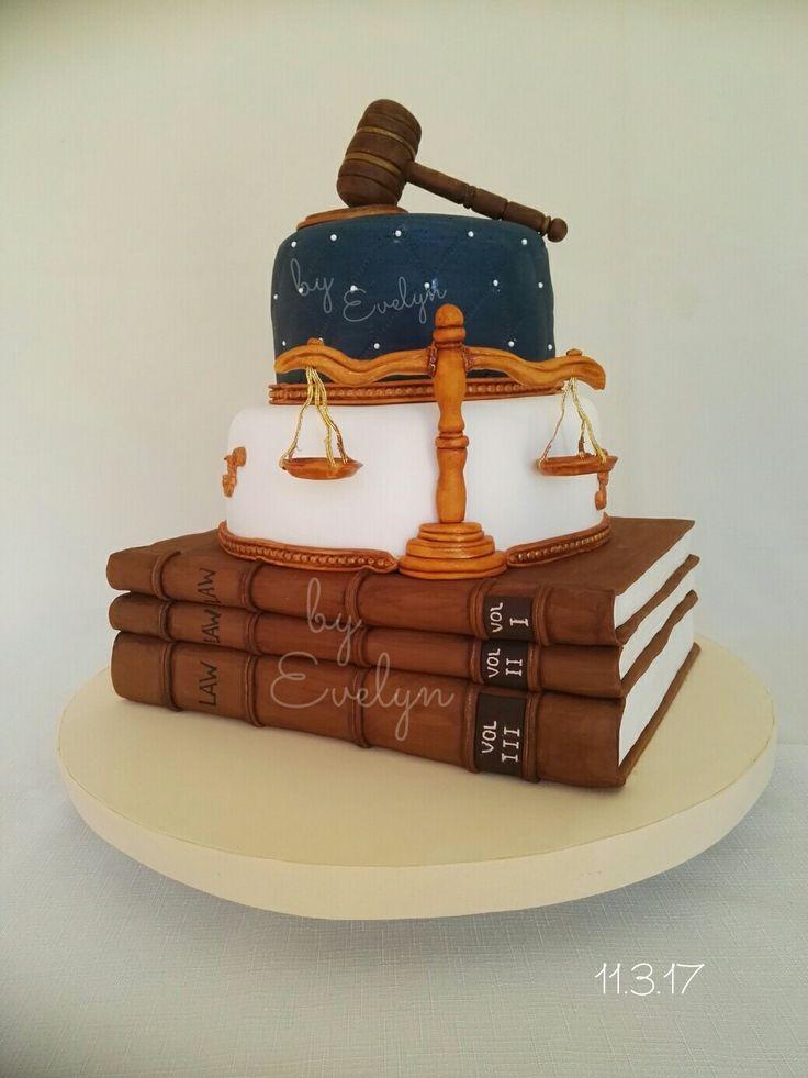 Graduation#lawyer#cake#fondant#book#almendra#amapola