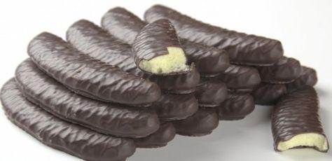 banány v čokoláde