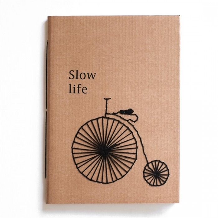 Notebook Line Rètro Slow Life