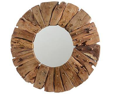 Зеркало - каштановое дерево, Ø60 см