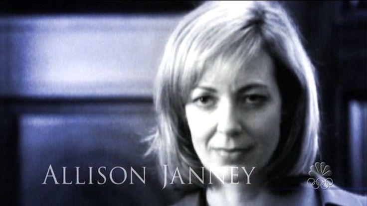 The West Wing- Allison Janney | CELEBS | Pinterest