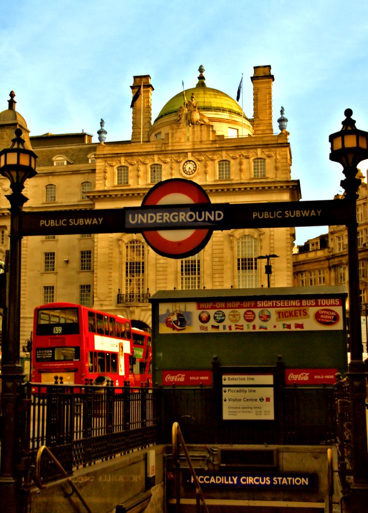 From Piccadilly London Photos - Week of the Sept. 11th to 15th - Just trying to figure out where I am; looking for a sign. Actually trying to and finally getting used to London's Underground. Walking's good but good to branch out. Well, we always branch out but good to branch out quicker sometimes.