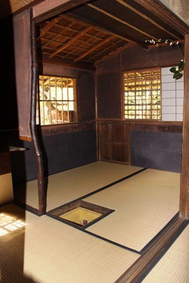 高桐院お茶室