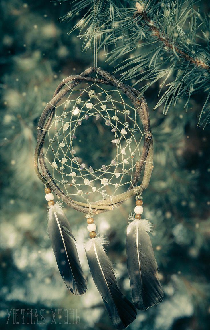 Magic winter dreamcatcher