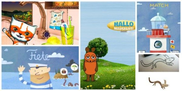 gute Kinderapps Collage