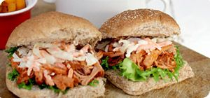 Bring your party to life with this melt-in-your-mouth pulled pork—smokin' hot and delicious!