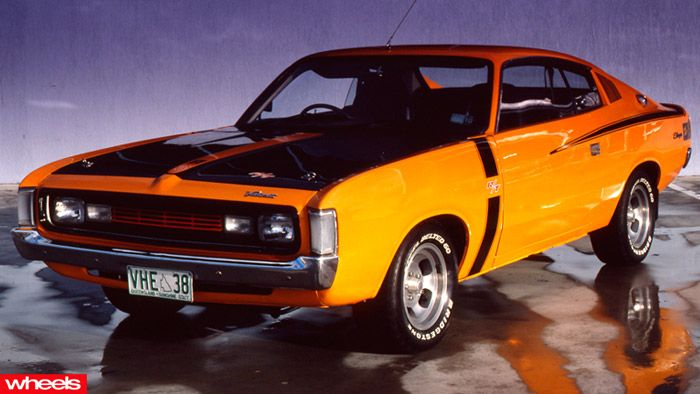 Iconic Aussie cars - Chrysler Charger E series http://koloswheel.com/