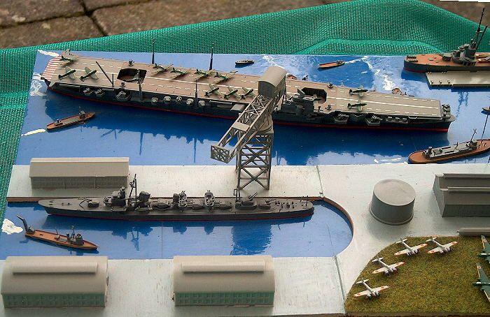 jap. Hafen 2. Weltkrieg 1:700