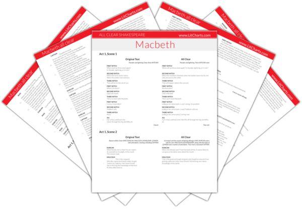 The LitCharts Shakespeare translation of Macbeth
