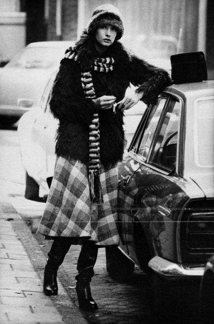 Claudia Sträter ad 1970.