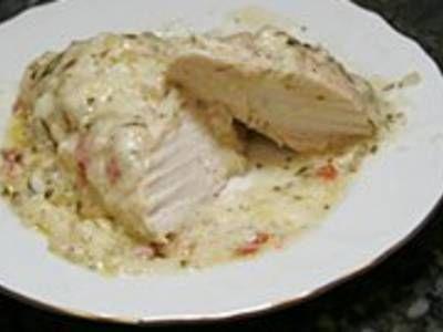 Chicken With Havarti Cheese Sauce