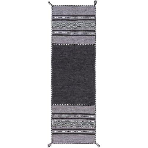 Surya TRZ3000-268 Trenza 3' x 8' Runner Cotton Hand Woven Southwestern Area Rug