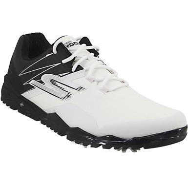 Skechers Go Golf Focus Collegia Golf Shoes - Mens White Black