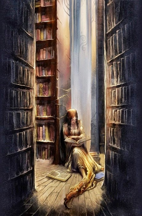 She's a bookworm, in love with the magic of stories. To lose yourself in a book is the desire of the bookworm .. to be taken, that is my desire ... I want to be taken, the book should take you away. A book is not supposed to be a mirror, it's supposed to be a door.