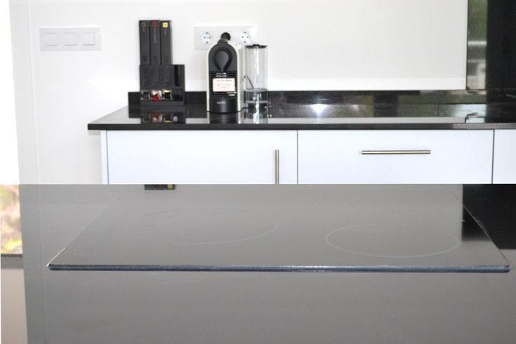 Encimera Granito Negro Brillante | Cauvells
