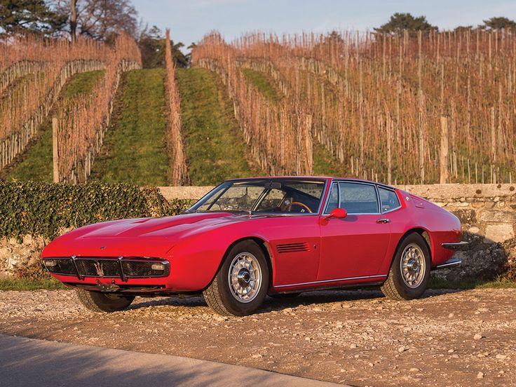 1969 Maserati Ghibli 4.7 | V8, 4,719 cm³ | 310 BHP | Design: Giorgetto Giugiaro…