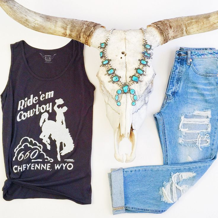 Ride 'Em Cowboy! Squash blossom love!!! Western fashion.