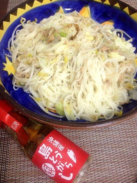 レシピとお料理がひらめくSnapDish - 22件のもぐもぐ - そうめんチャンプル島とうがらしでo(^▽^)o by yuk