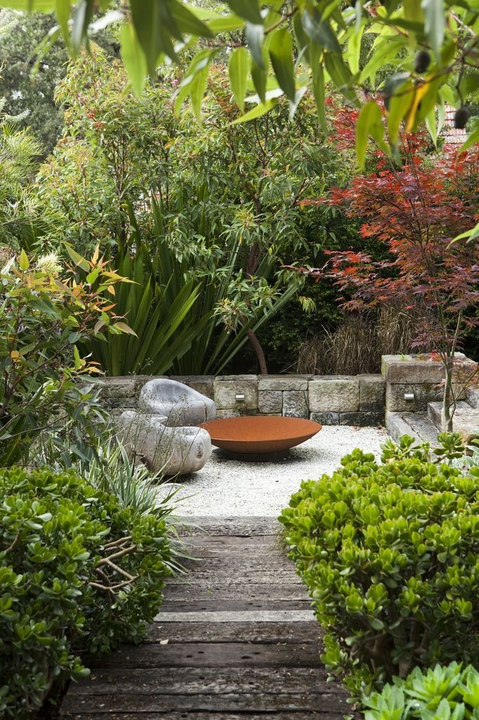 Fire-pit.Garden by Peter Fudge