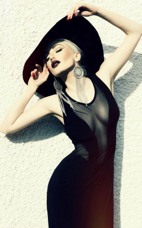 sexy black #glamour #photography #women #style #fashion