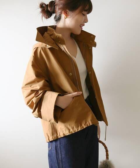 グログランフーディーブルゾン spick and span スピック スパン 公式のファッション通販 18011200801030 baycrew s store ファッション ファッション通販 コート