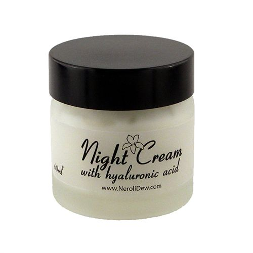 Amazing night cream with hyaluronic acid