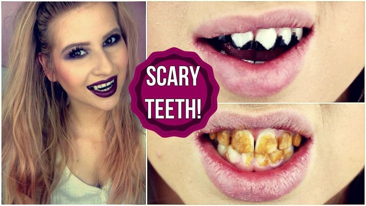 DIY SCARY HALLOWEEN TEETH! (Vampire, Zombie & Cat)