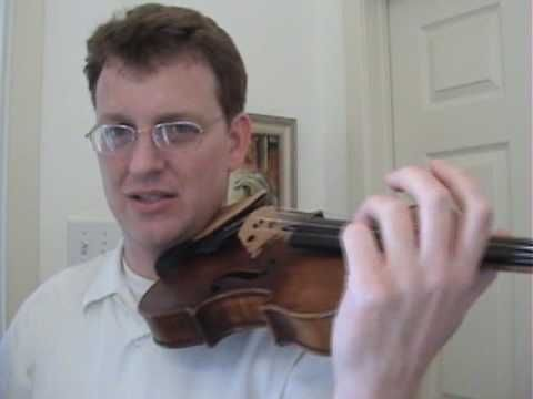 Free Violin Lessons online by a professor of violin at Del Mar college, Texas (on youtube)