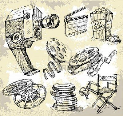Film Reels - I have chosen this image as, as well as TV, I would like to also go on to work in the film industry. #MFC4012