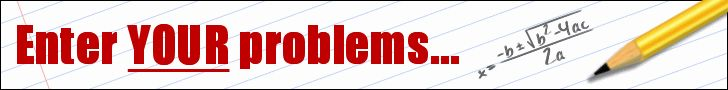 Algebra Help  It's awesome! You can plug in your algebra problem and it shows you how to get the answer.   It's a great resource for those who are finding themselves needing to help teenagers with algebra.